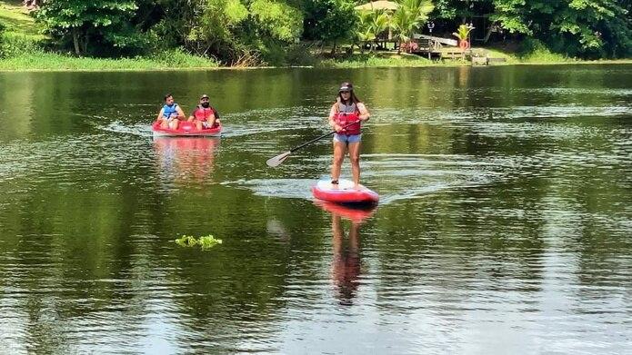 Para el alquiler botes o paddle boards no se requiere reservación previa.