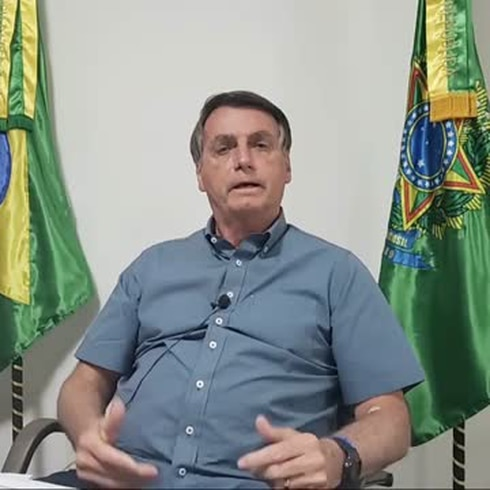 ¿Qué hizo Jair Bolsonaro? Así reapareció con COVID-19