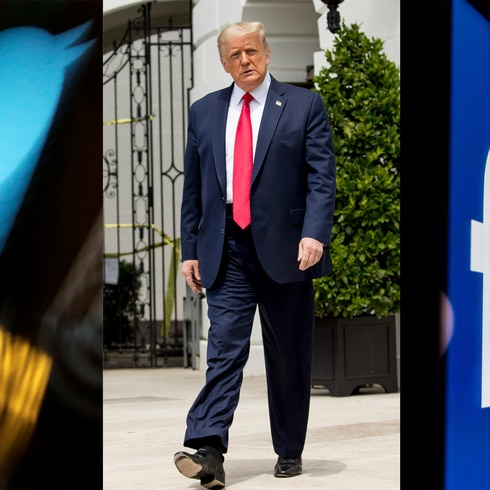 Facebook y Twitter castigan a Donald Trump