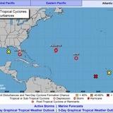 Se fortalecen tormentas en el Golfo de México