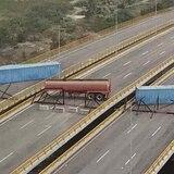 Venezuela intenta bloquear la entrada de ayuda humanitaria