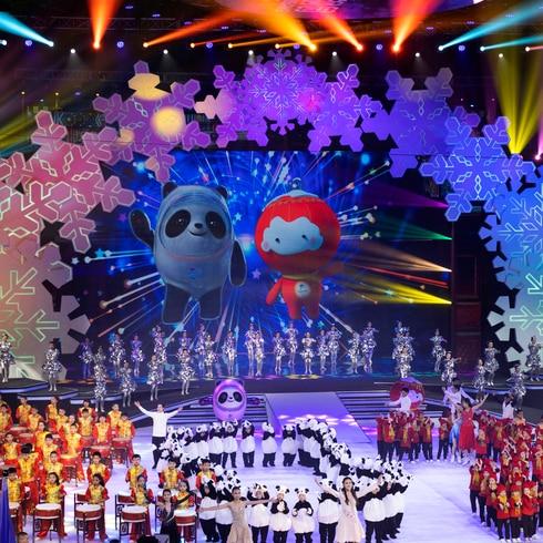 ¡Llegó la mascota de las Olimpiadas de Invierno 2022!