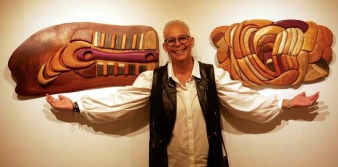 La juanadina Janet León Rodríguez expone hasta septiembre en Space Gallery en Guaynabo. (Suministrada)
