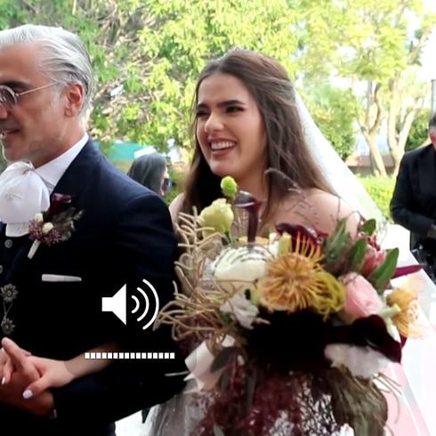 Sorprende boda de la hija de Alejandro Fernández
