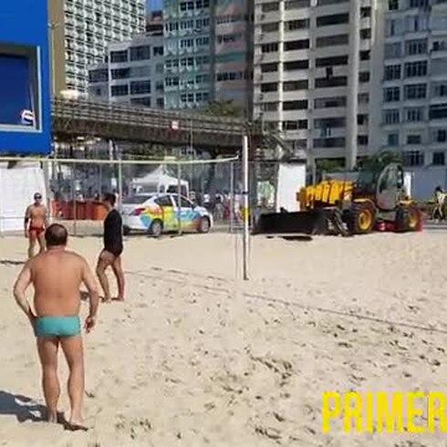 Cuando calienta el sol en Copacabana