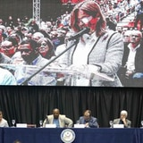 Boricuas llevan su descontento ante los congresistas en el Roberto Clemente