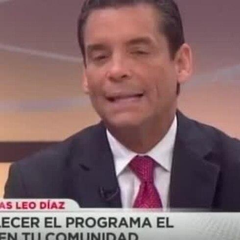Leo Díaz reacciona a las expresiones de Kendo Kaponi