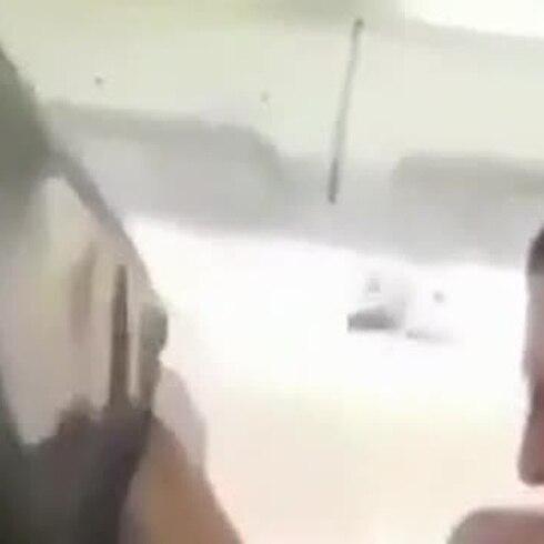 Pasajero graba un episodio de turbulencia severa en un vuelo a Suiza