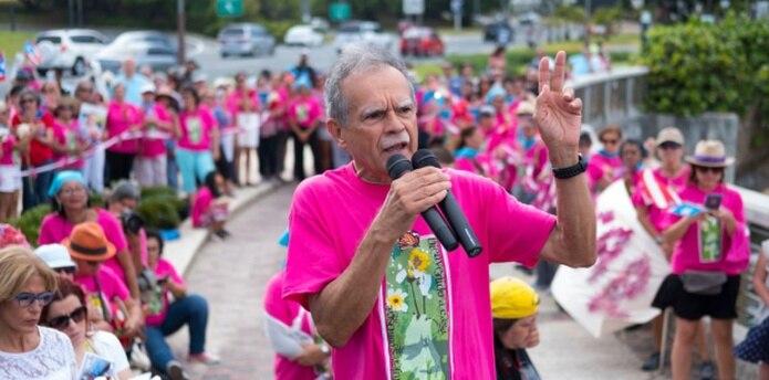 Todos los últimos domingos del mes, desde el 2013, mujeres de todos las ideología y de una amplia gama de diversidad, se reunían en el Puente Dos Hermanos para reclamar la excarcelación de López Rivera. (tonito.zayas@gfrmedia.com)