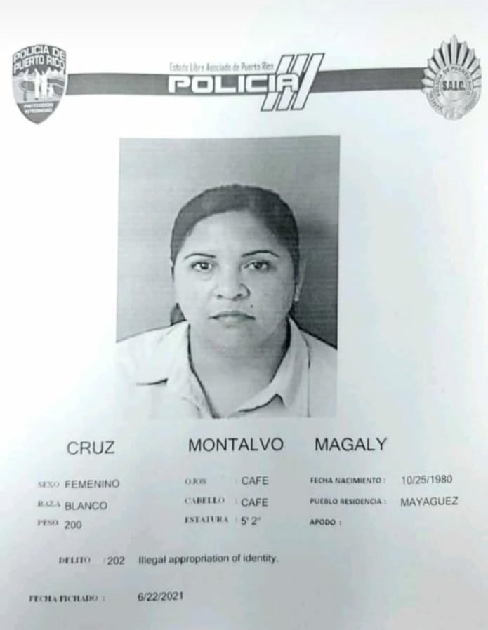 Magaly Cruz Montalvo fue acusada por fraude al Programa de Asistencia por Desempleo Pandémico.