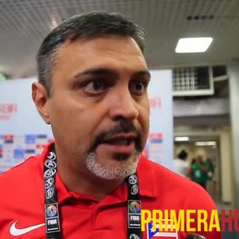 Reacciona Eddie Casiano a la victoria de Puerto Rico ante Angola
