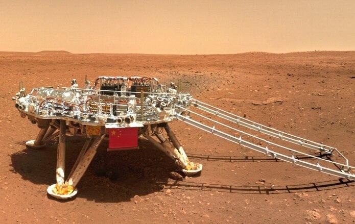 Nueva imagen de la superficie de Marte.