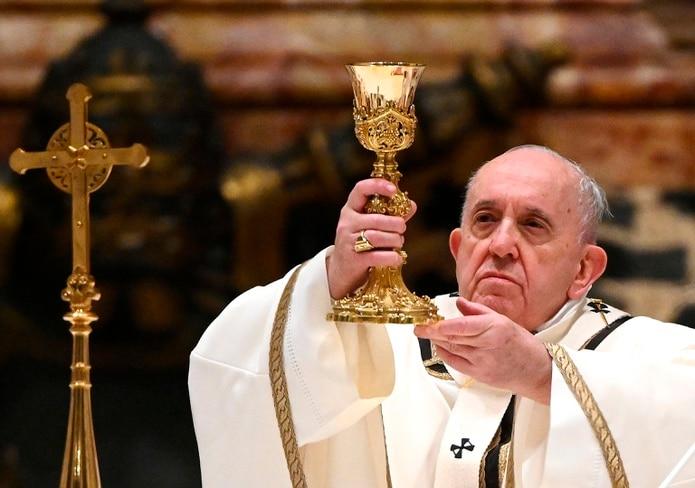 El papa Francisco suele repasar los males, y las crisis y guerras en el mundo en su mensaje navideño.