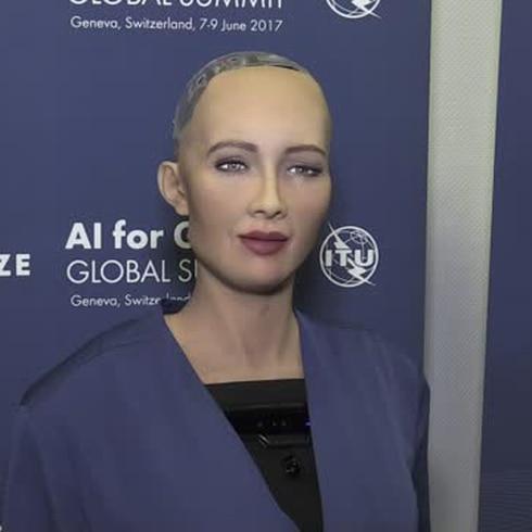 Sophia, una robot que parece humana
