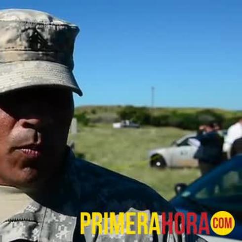 Militar relata cómo rescataron a los niños heridos tras choque de guagua escolar