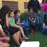 Llevan ayuda sicológica a niñas y niños de Peñuelas