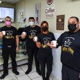 Empleados de hospital se convierten en expertos del café