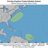 La hora del tiempo: onda tropical con leve potencial ciclónico
