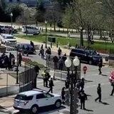 Un agente murió en ataque con vehículo contra el Capitolio de EE.UU.