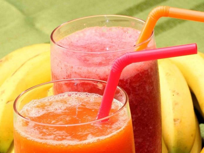La batida puede preparase fácilmente en la licuadora combinando yogur, frutas y vegetales. (GFR Media)