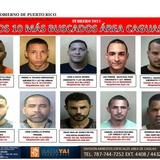 Wasa encabeza lista de los Diez más Buscados en el área de Caguas
