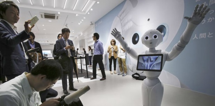 Los robots son cada vez más baratos. (AP Photo/Koji Sasahara, File)