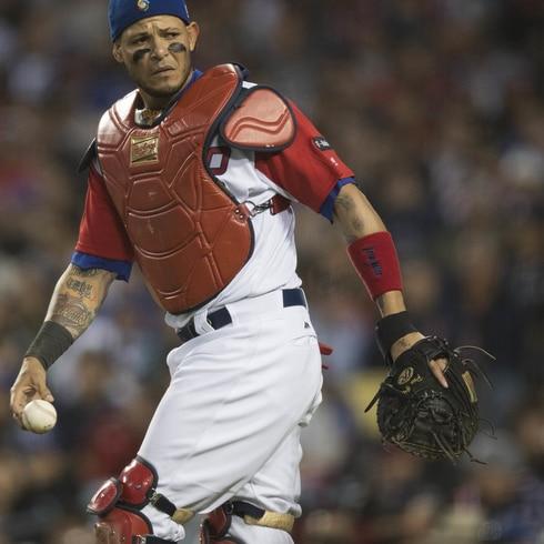 Yadier Molina una de las grandes estrellas del béisbol