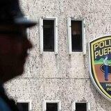 Roban portón eléctrico de un banco en Santurce