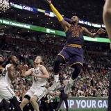 LeBron James no está asusta'o ante los Warriors