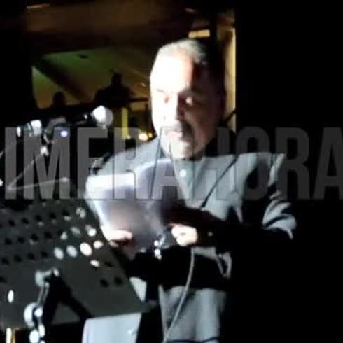 Willie Colón en el concierto de la Fania All Star