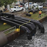 Nuevas bombas de agua mitigan inundaciones en Cataño