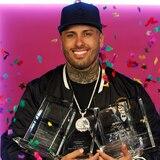 Nicky Jam arrasa en los Premios Billboard Latinos