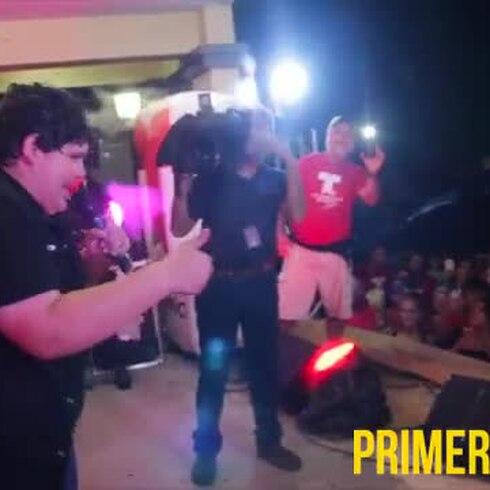 Gran recibimiento a Christopher Rivera en Quebradillas
