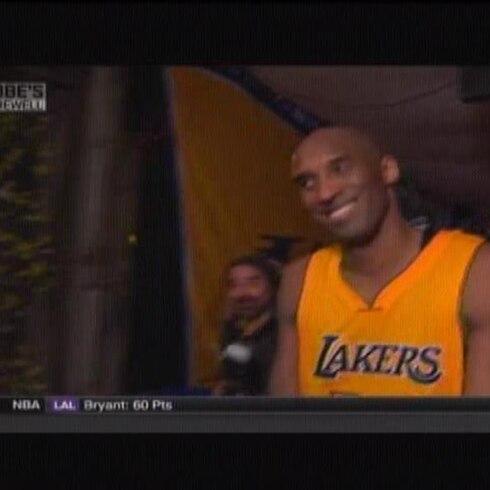 Últimas palabras de Kobe Bryant luego del triunfo de Los Lakers