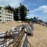 El Condominio Sol y Playa hará una verja para impedir acceso de tortugas a la zona de construcción