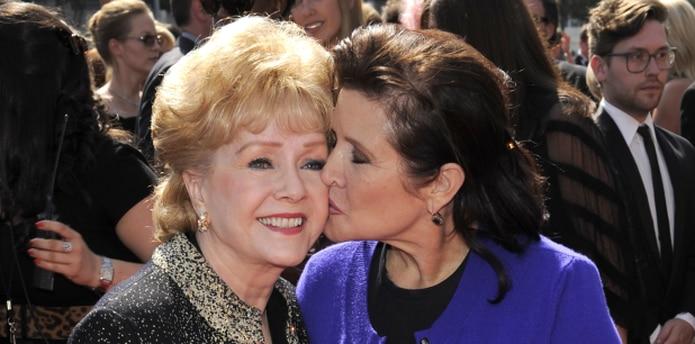 Reynolds falleció un día después de su hija Carrie Fisher. (AP)