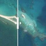 Huracán hace desaparecer isla de Hawái