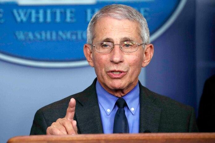 Anthony Fauci, principal experto de enfermedades infeccionas de Estados Unidos. (AP)