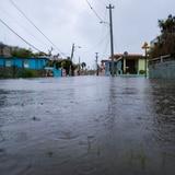 Inundaciones en los sectores más afectados por el terremoto en Guánica
