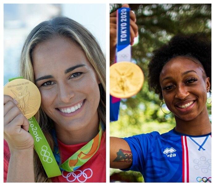 Mónica Puig y Jasmine Camacho-Quinn son las únicas atletas puertorriqueñas, en general, en ganar medallas de oro olímpicas.