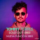 Tommy Torres anuncia la segunda función para su concierto 2020Tour