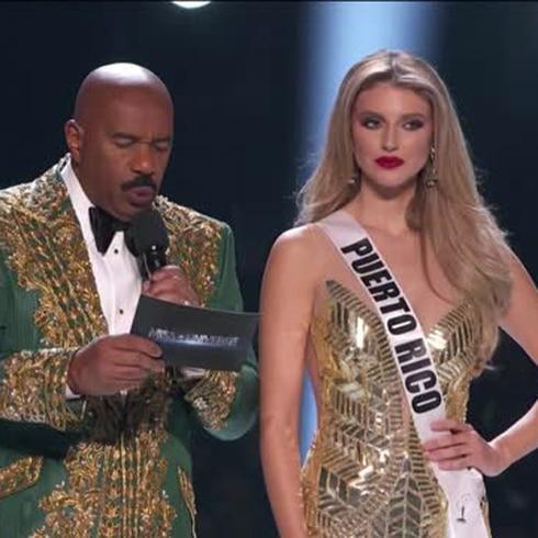 Lo que respondió Madison Anderson en la pregunta de  las cinco finalistas