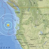 Se registra fuerte temblor en la costa de Oregon
