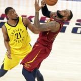 Pacers remontan ante los Cavaliers y aventajan 2-1 en la serie