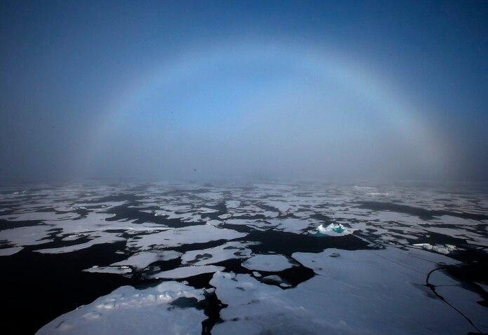 La agencia europea explicó que si bien hacer el seguimiento de la superficie terrestre y oceánica cubierta por el hielo es sencillo gracias a las imágenes de los satélites.