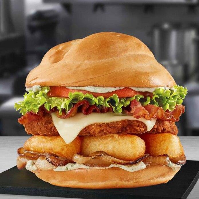 """El sándwich fue denominado """"Yuca al Mojo"""".   (Suministrada)"""