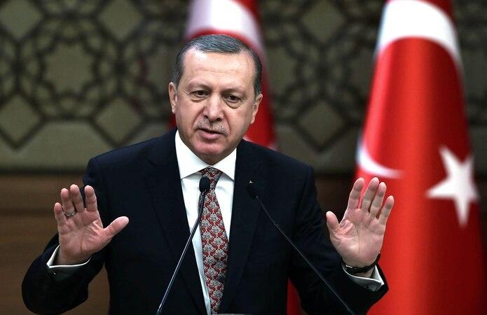 El presidente de Turquía, el islamista Recep Tayyip Erdogan.