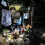 Las muestras de inmortalidad crecen tras nueve días de la muerte de Diego Maradona