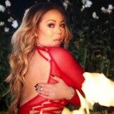 Mariah Carey casi se quema grabado su nuevo vídeo musical