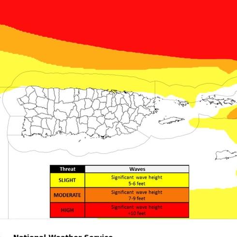 La hora del tiempo: peligroso oleaje por el huracán Teddy